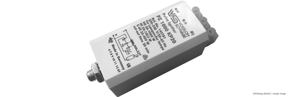 Ignitor for HQI 70-400 Watt (Pulser) / 230V - 50 Hz