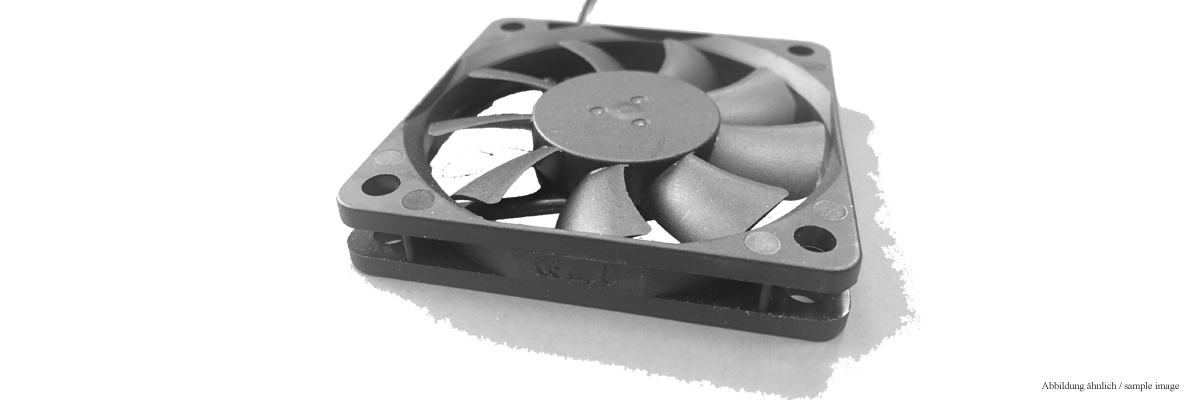 Fan 92x92x25 mm / 12V DC