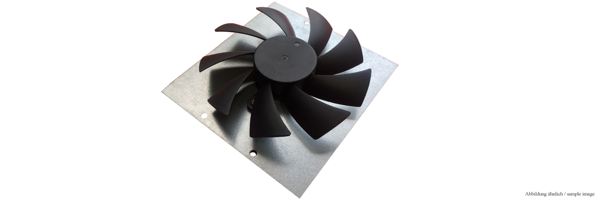 Fan for VERVvE (including mounting plate)